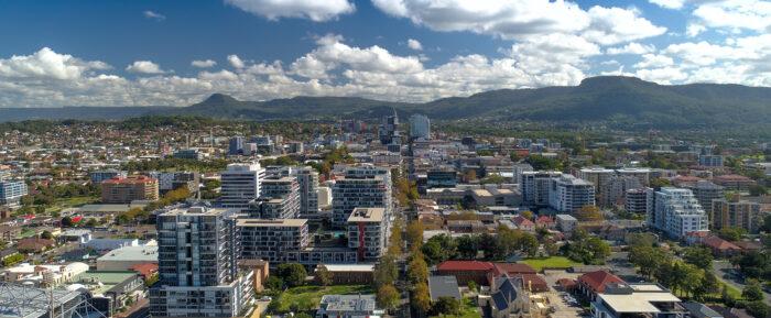 An image of Wollongong CBD